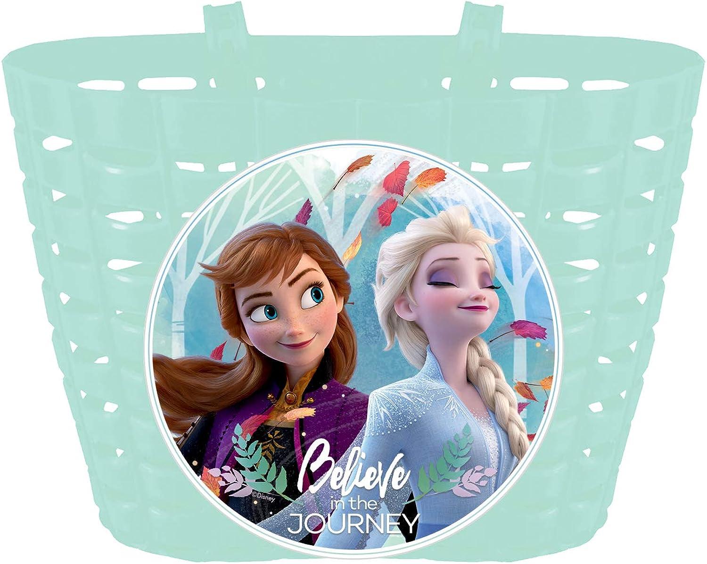 Disney Frozen die Eiskönigin Kinder Fahrradtasche Lenkertasche Fahrrad Korb weiß