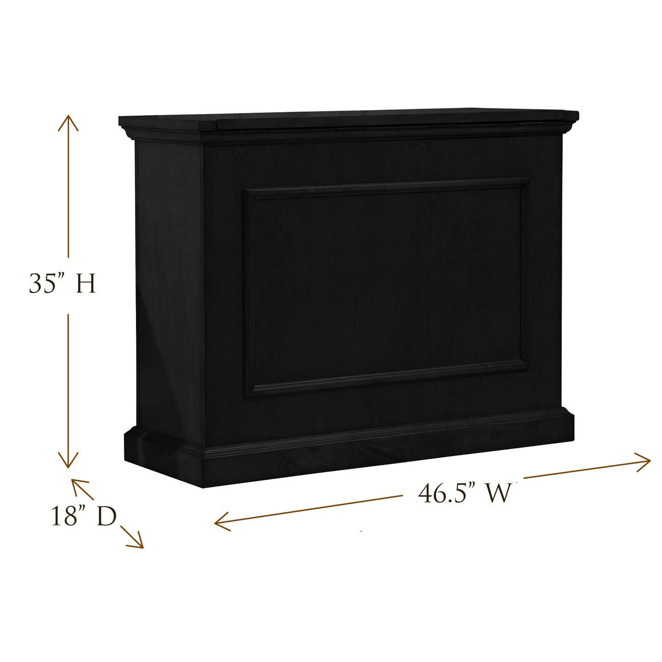 Amazon.com: Touchstone Elevate Motorized TV Lift Cabinet – Rich ...