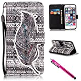 Ipod Gen 5 32gb Best Deals - iPhone 5S Case, iPhone 5 Wallet Case, Firefish [Kickstand] [Shock Absorbent] Double Protective Case Flip Folio Slim Magnetic Cover with Wrist Strap for Apple iPhone 5/5S/SE-Feather