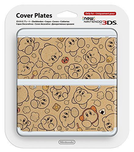 New Nintendo 3ds Cover Plates No.058 Kirby's Dream Land Only for Nintendo New 3DS Japan Import ()