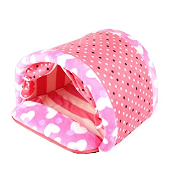usfafa doblado mascotas casa suave algodón gato túnel perro casa cama con cortina para puerta: Amazon.es: Productos para mascotas