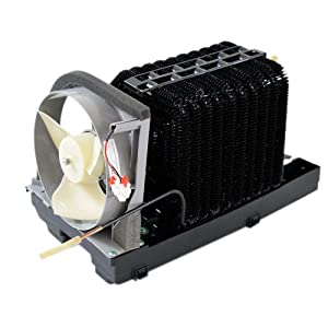 Samsung DA97-05043L Refrigerator Condenser Coil and Fan Motor Assembly Genuine Original Equipment Manufacturer (OEM) Part