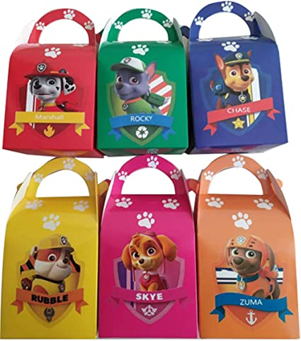 PAW PATROL ERASERS 12 ~ Birthday Party School Supplies Stationery Favors Chase