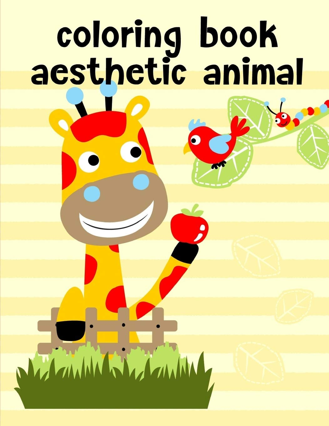 Amazon Com Coloring Book Aesthetic Animal Christmas Coloring Pages For Boys Girls Toddlers Fun Early Learning Animals Comics 9781679029905 Color Creative Books