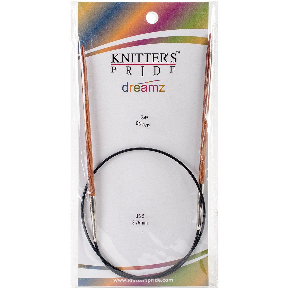 24 Knitters Pride 10//6mm Dreamz Fixed Circular Needles