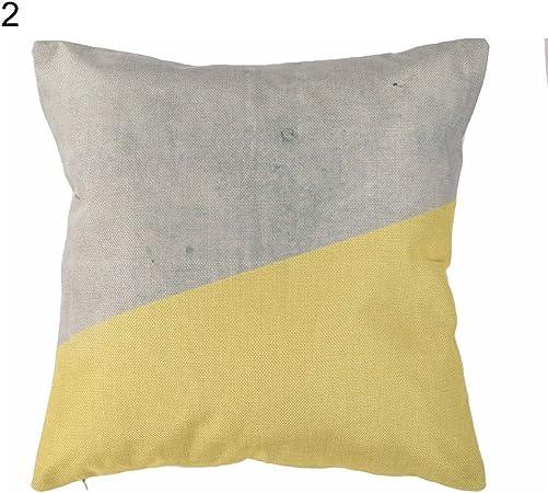 Cuscini Gialli Per Divano.Achidistviq Federa Per Cuscino Con Foglia Di Ananas Color