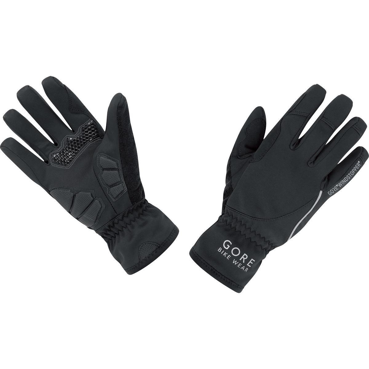 GORE BIKE WEAR Women's Power Lady Windstopper Gloves, Black, Medium
