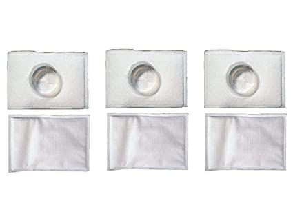 6 Pack Replacement Filters for Electrolux Aerus Hi-Tech 2100 & LE Model  Tank Type Canister Vacuums, Part # 26-2311-09