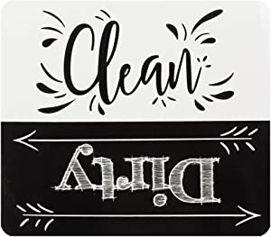"""Clean Dirty Dishwasher Magnet, 4"""" x 3.5"""" 