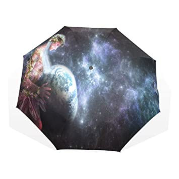 5ab8ff55d62f Amazon.com: Umbrella Mother Earth Travel Golf Sun Rain Windproof ...