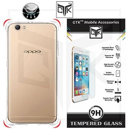 half off f10ed 99b93 Oppo F3 Plus Tempered Glass + Back Cover - TheGiftKart: Amazon.in ...