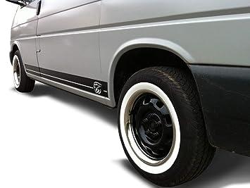 Universal Fondo de pantalla Anillo Llanta Set + Blanco pared anillos 13 pulgadas - Para Automóviles, Oldtimer, Youngtimer: Amazon.es: Coche y moto