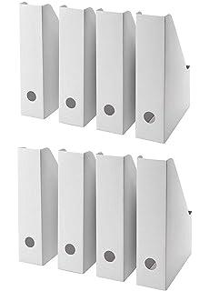 Scrivania Porta Pc Ikea.Amazon Com Ikea 20 Pc Fluns Magazine File Holder Home Kitchen