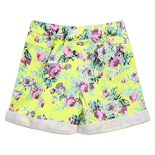 Richie House Little girl's Shorts with All over Floral Print RH1002-C-5/6 by Richie House (Image #1)