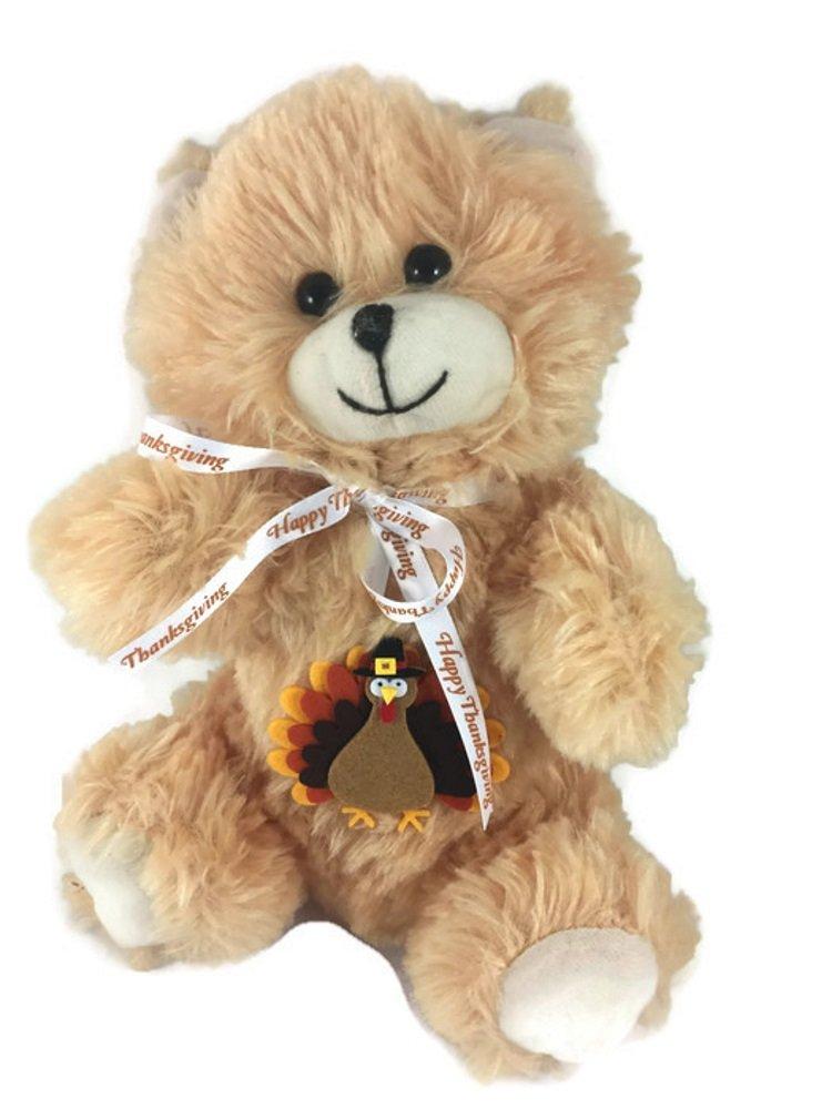 Babies First Keepsake Thanksgiving Teddy Bear