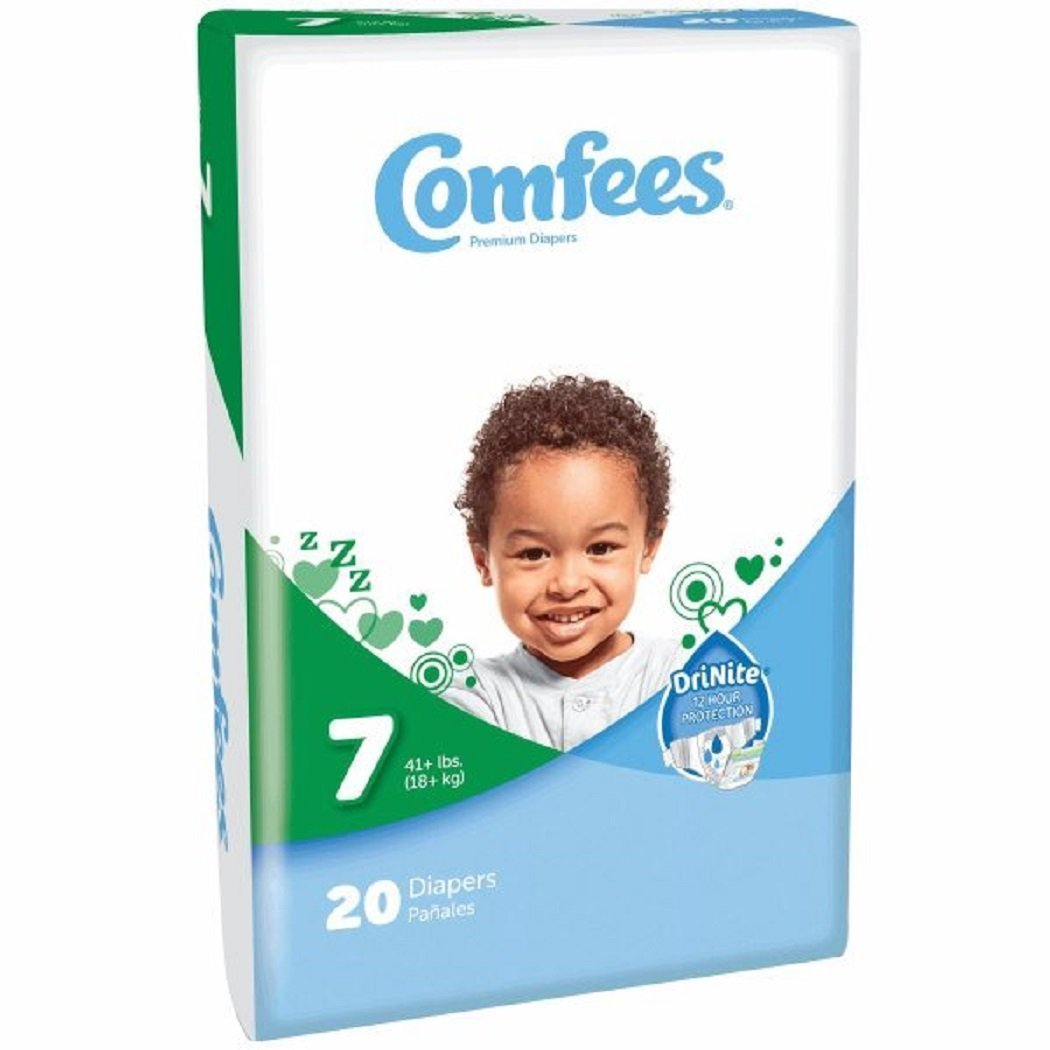Attends Healthcare Products Comfees Baby Diapers Size 7 (Case of 4)