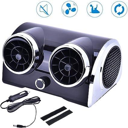 Gtest Ventilador portátil sin Cuchilla para automóvil, circulación ...