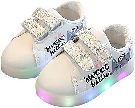 Xinantime Bébé Chaussures LED Baskets Sport, Enfants Kid