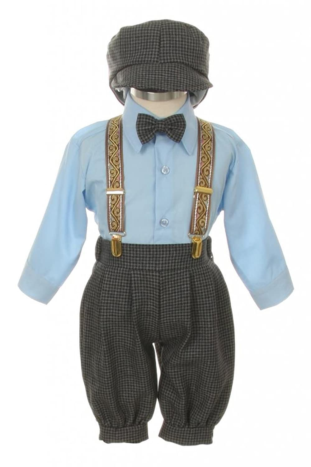 Amazon.com: Vintage Dress Suit-Tuxedo Knickers Outfit Baby Boys ...