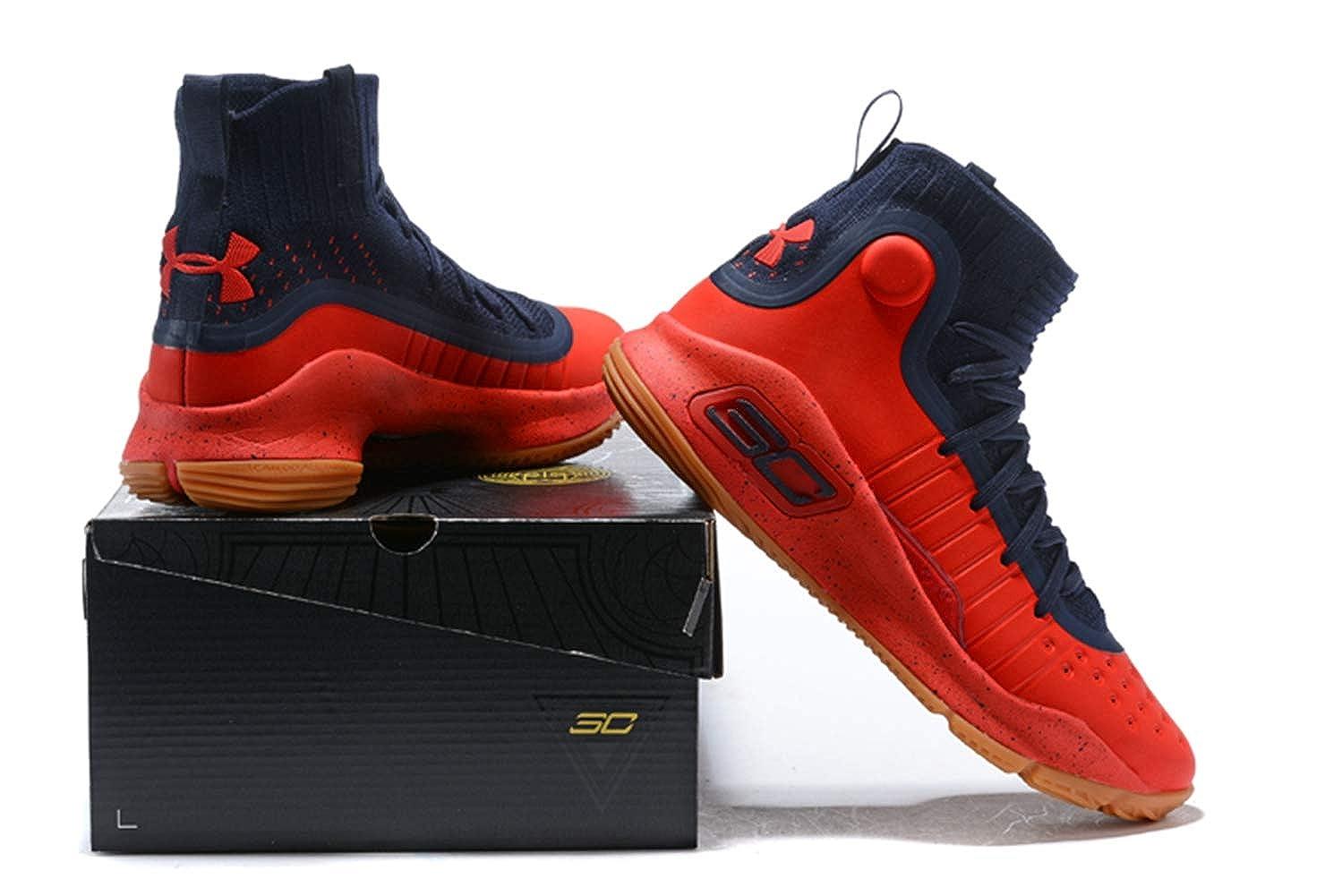 Bazi Sport Mens UA Sports Basketball Curry 4 Shoes
