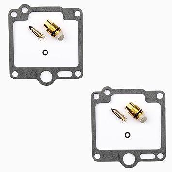2x Kit Reparación Carburador Aguja del flotador Getor CAB-Y31: Amazon.es: Coche y moto