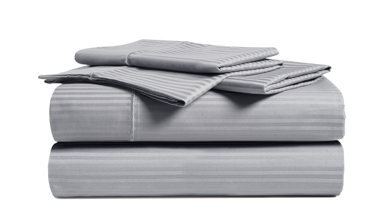 CHATEAU HOME COLLECTION Luxury Combed Cotton 500 Thread Count 4 Piece Sheet Set, Great Deal - Lowest Prices,FULL - GREY