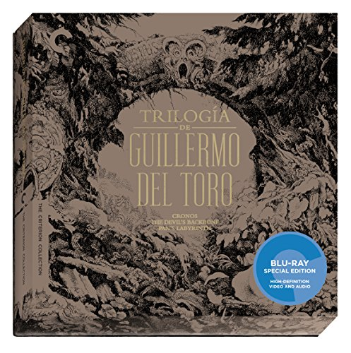 Blu-ray : Trilogia De Guillermo Del Toro (Criterion Collection) (Special Edition, Collector's Edition, AC-3, Digital Theater System, Widescreen)