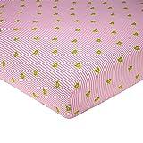 Cribs for Sale Sadie & Scout Bird Print Crib Sheet, Pink