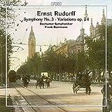 エルンスト・ルドルフ:交響曲 第3番 他