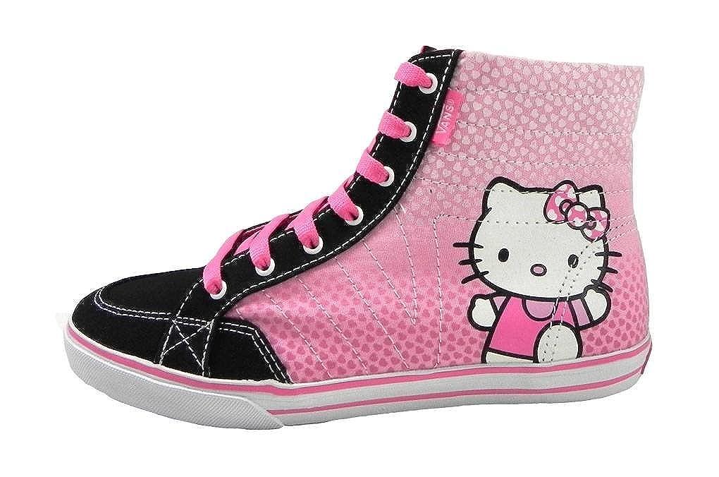4861c7bd388 Amazon.com  New Vans Corrie Hi Top Hello Kitty Girls Shoes (6.0)  Shoes