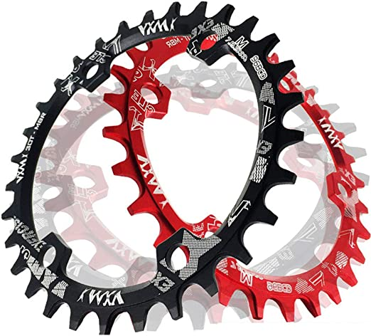 Anillo de cadena simple Plato de bicicleta de velocidad, BCD 96MM ...