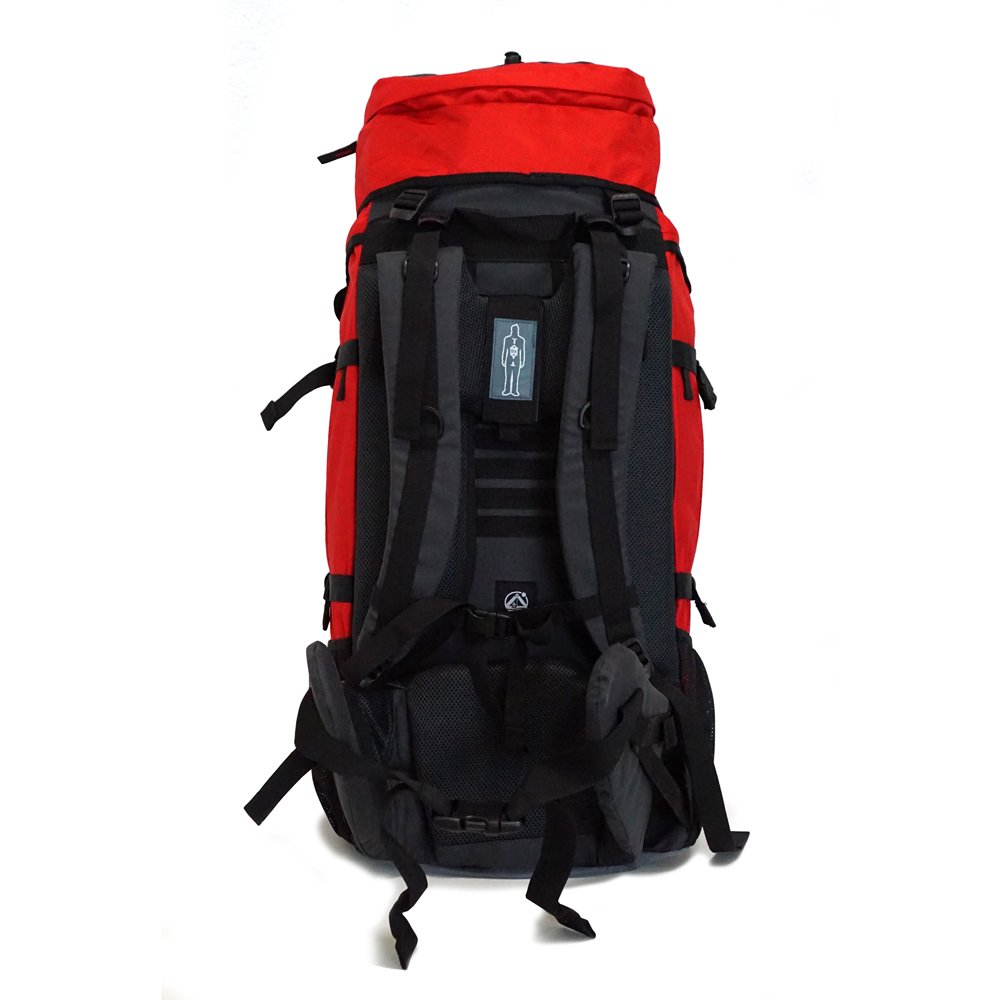 Work And Traveller 65+10 con Accesso Frontale ergonomico Outdoorer Donne Zaino con Caricatore Frontale Ideale per soggiorni Work And Travel e Backpacking Adattabile ad Ogni Dorso