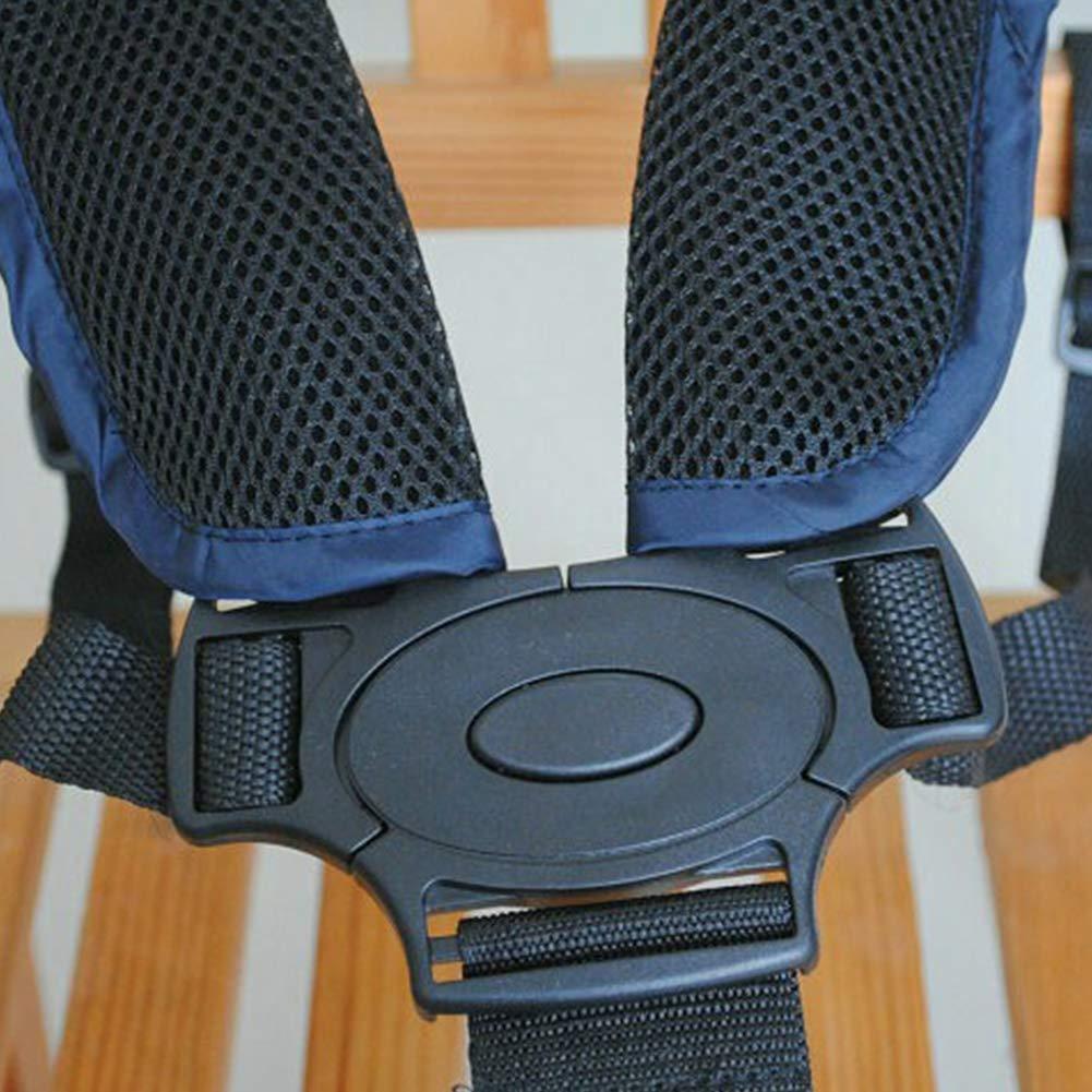 Baby Sicherheitsgurt verstellbarer Sicherheitsgurt Universal 5-Punkt Baby Gurt mit Schulterpolster f/ür Kinderwagen Hochstuhl Kinderwagen Buggy