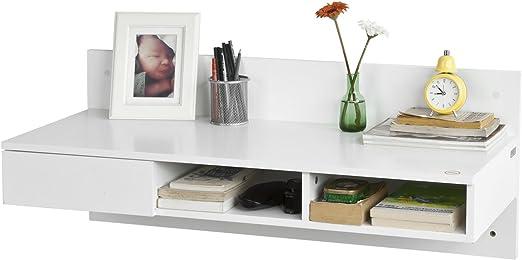Promoción -15%. SoBuy® fwt30-w escritorio mesa de pared mesa de ...