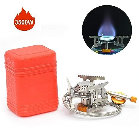 Mini Estufas para Acampar 3500w Plegable Estufa de Gas para ...