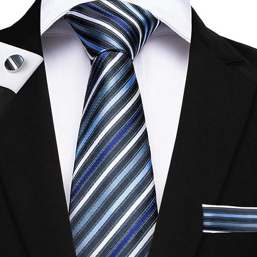 QEHWS Corbata Corbatas para Hombre Corbata Boda Novio: Amazon.es ...