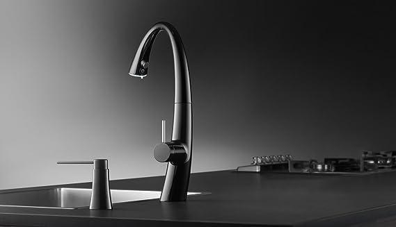 Black Franke KWC Faucets Z.536.586.106 ZOE Soap Dispenser