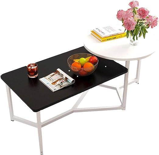 TXC- Mesa de té Mesa de Centro pequeña Mesa de salón Simple Mesa ...
