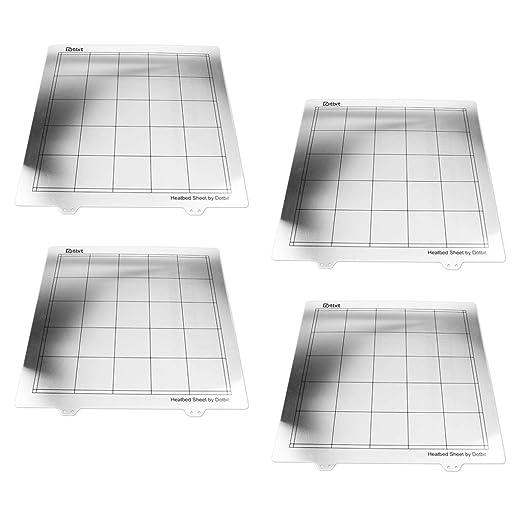 Homyl Plataformas De Impresora 3D Ultra Base 4 En 1, Superficie De ...