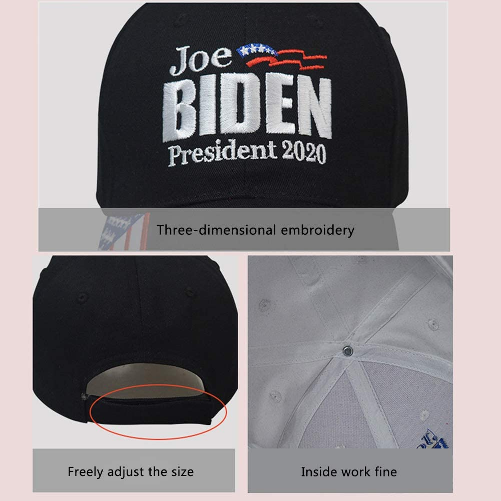 GRANDLIN Joe Biden 2020 for President Election Cap Baseball Hats President Hat 3D Embroidery Hats for Men Women