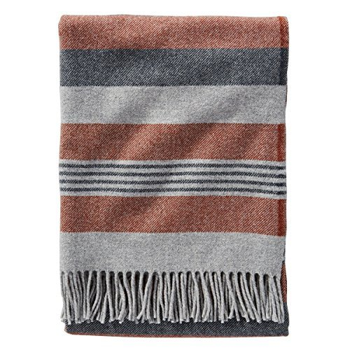 rise Horizon Stripe Lambswool Throw ()
