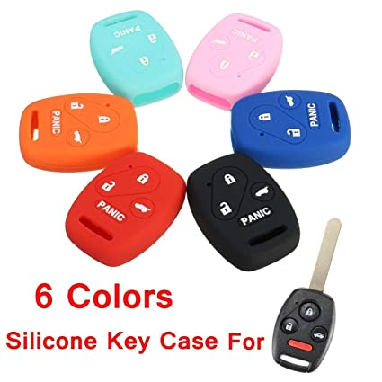 uxcell Smart Remote Key Fob Case Shell Fits for Honda Accord Civic CRV Pilot 2 BTN