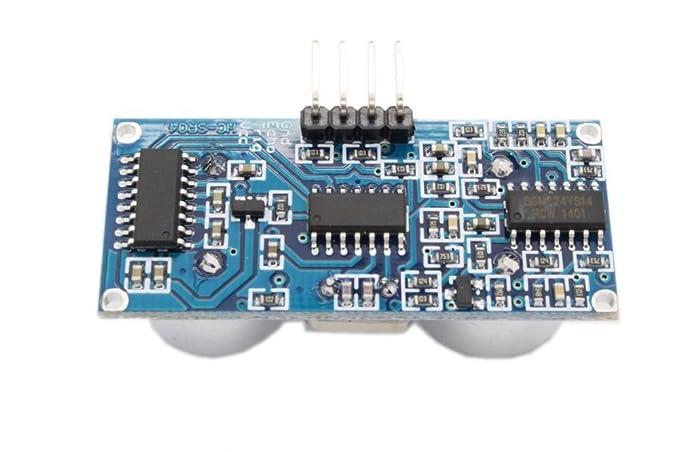 Ultraschall Entfernungsmessung Formel : Robomall hc sr ultraschall modul mit montagewinkel amazon