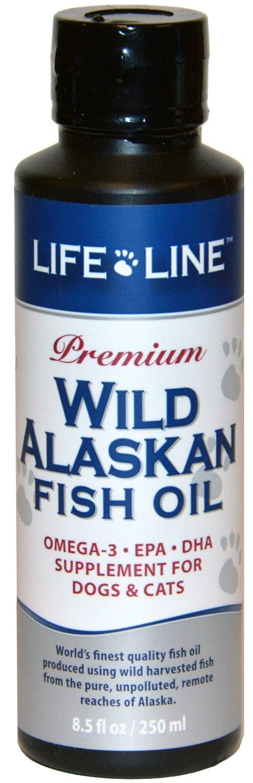 Life Line Wild Alaskan Fish Oil, 8.5-Ounce