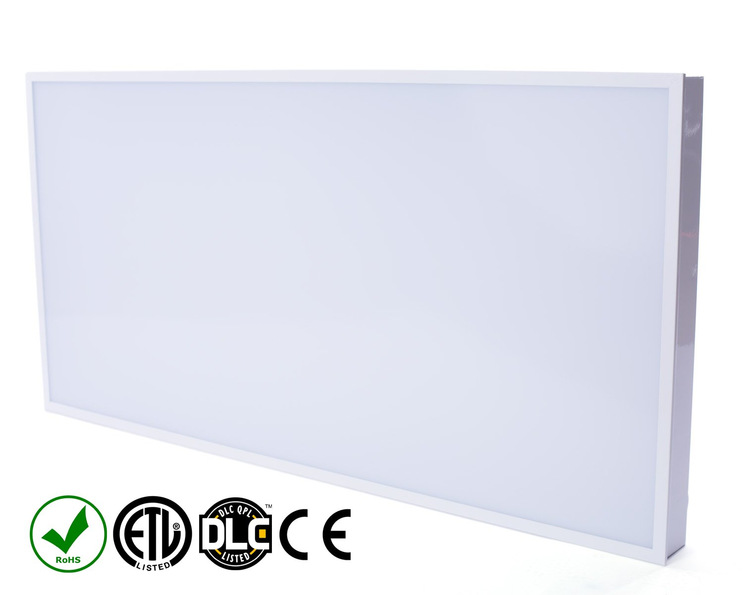 hot sale online f9110 0c8f4 Fovitec StudioPRO Office Industrial Home Energy Saving LED Light Panel  Fixture Ultra Thin Bright Backlit 5500K 40W - 2 x 4 feet