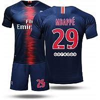ZWXYA Camiseta FFF Fútbol francés Copa del Mundo Camiseta Vintage MBAPPE Traje