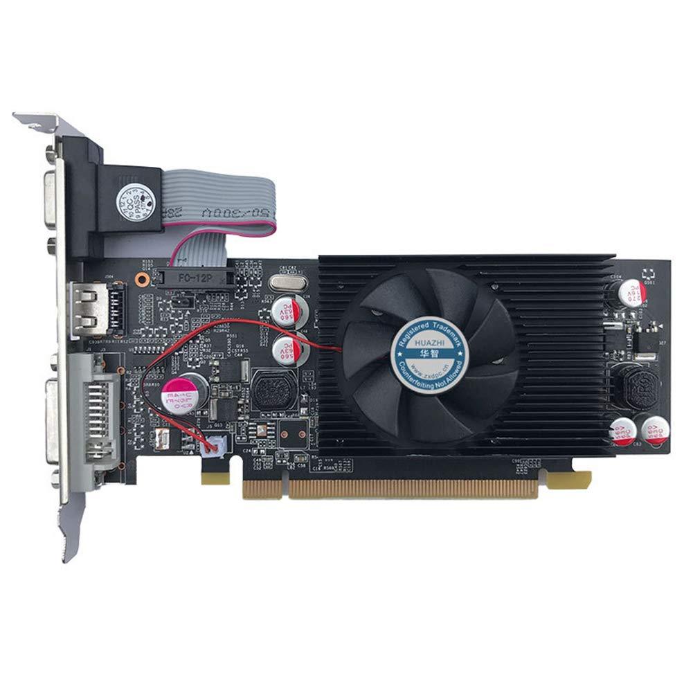 Tarjeta gráfica GeForce Chipset Video GT610 1GB DDR2 para PC y ...
