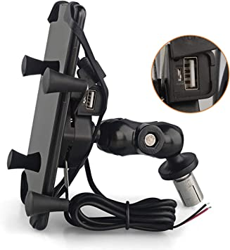 Motorrad Handyhalterung Handy Halterung Passend Für Elektronik