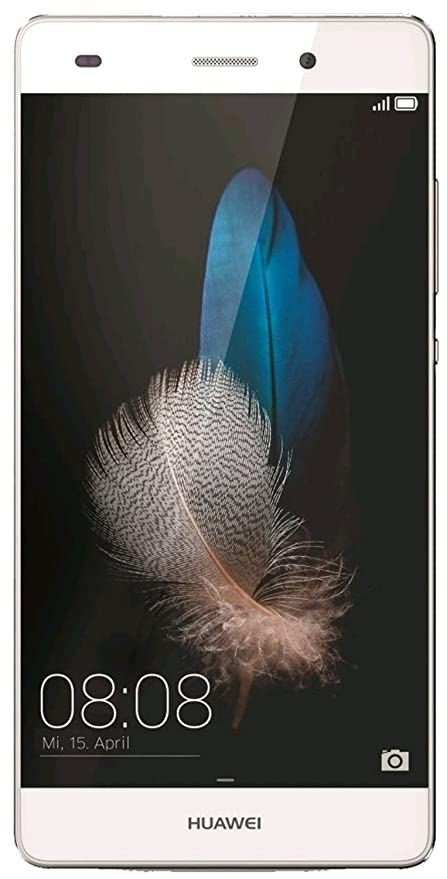 Huawei P8 Lite ALE-L21 16GB White, Dual Sim, 5-Inch, Unlocked Smartphone -  International Stock, No Warranty