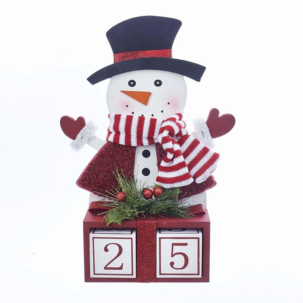 Kurt Adler 15 Countdown to Christmas Snowman Calendar